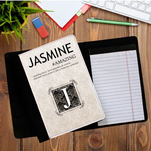 Personalised ANY NAME Dictionary Definition Notebook Notepad with paper N5